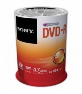 Sony 100DMR47SP - Recordable Storage DVD-R (Pack of 100)