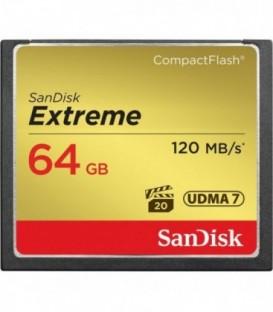 Sandisk SDCFXSB-064G-G46 - Sandisk Extreme 120MB/s CF 64GB