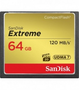 Sandisk SDCFXSB-064G-G46 - Extreme 120MB/s CF 64GB