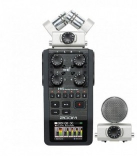 Zoom H6 - Handy, portable handheld recorder