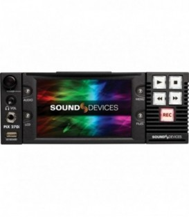 Sound-Devices PIX 270i - Rack-Mount video Recorder/Player with time code