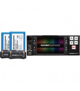 Sound-Devices PIX 250i Complete - Rack-Mount video Recorder/Player with time code with accessories