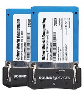 Video-Devices XM-CADDY PACK - Two SATA Drives pre mounted