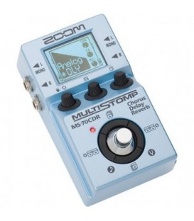 Zoom MS-70CDR - Single Stompbox for Guitar, Chorus/Deayl/Reverb