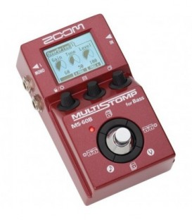 Zoom MS-60B - Single Stompbox for Bass,58 FX, 50 Presets