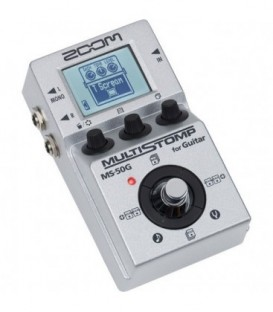 Zoom MS-50G - Single Stompbox for Guitar, 47 FX, 50 Presets