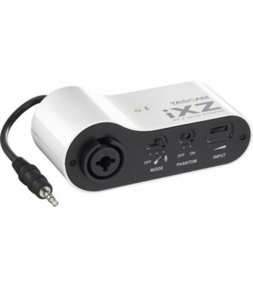 Tascam iXZ - High qualtiy mic/instrument preamp for mobile Apple devices