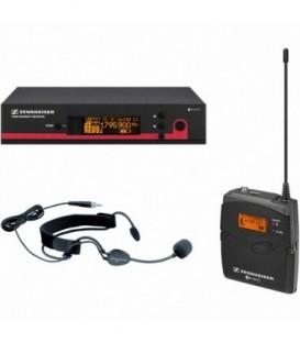 Sennheiser EW152-G3-1G8 - Bodypack Microphone System with ME3 Headset Mic