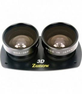 Zunow WDA-06P - Kit 3D Wide Angle Conversion Lens