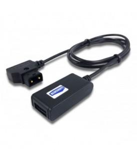 Aladdin AMS-USB-DTAP-BLUE - D-Tap to USB Blueshape