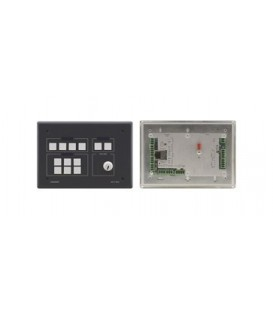 Kramer RC-74DL(B) - 12-Button Master Room Controller - Black