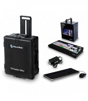 Newtek TRMSMINIHD4ICS - TriCaster Mini HD-4i Advanced + CS Bundle