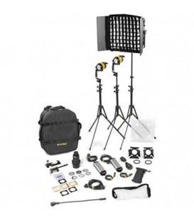 Dedolight BLED2x1-BI-S-E - 3 Light Kit - Bicolor AC