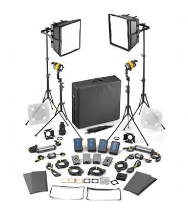 Dedolight SLED2x2-BI-M-E - 4 Light Kit - Bicolor AC/DC