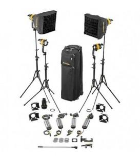 Dedolight SLED4-D-B-E - 4 Light DLED Kit - Daylight