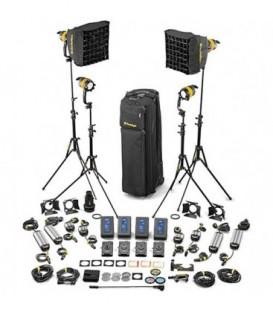 Dedolight SLED4-D-M-E - 4 Light DLED Kit - Daylight