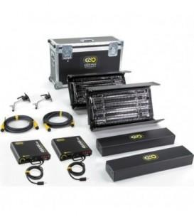Kinoflo KIT-2NT-X230U - Interview DMX Kit (2-Unit), Univ 230U