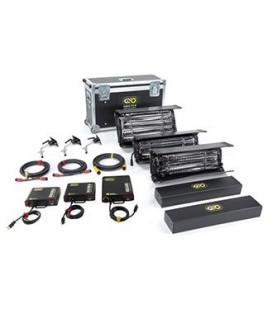 Kinoflo KIT-3NT-230U - Interview Kit (3-Unit), Univ 230U