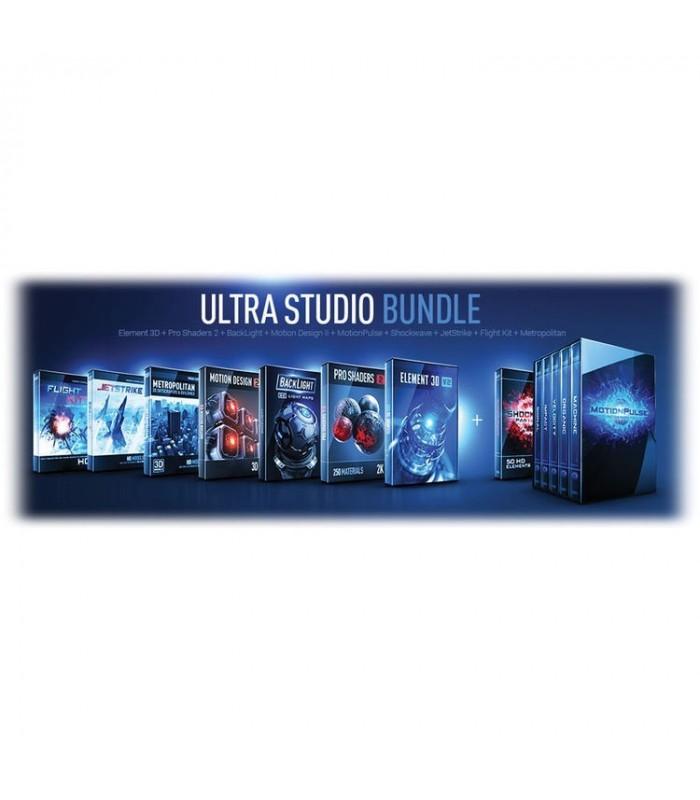 Video Copilot VCO-ULSTB-BDE - Ultra Studio Bundle (Download) - VISUALS  e-shop