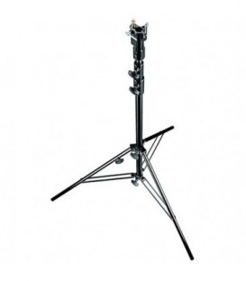 Manfrotto 007BSU - Black Steel Senior Stand with Leveling Leg