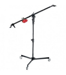 Manfrotto 025TM - Superboom Black with Sudio Stand