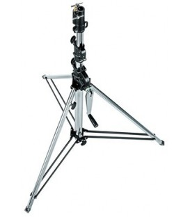 Manfrotto 087NWSHB - Short Wind-Up Stand (Black, 9')