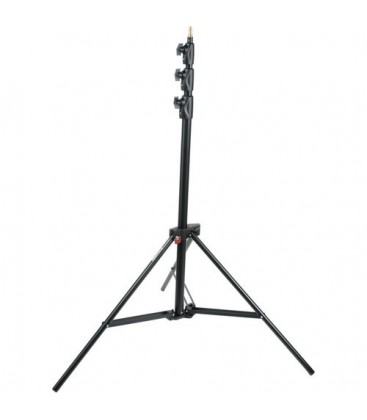 Manfrotto 1004BAC - Alu Master Air-Cushioned Stand (Black,12')