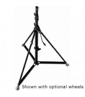 Manfrotto 387XBU - Black Steel Super Wind-Up Stand, 2' (3.6m)