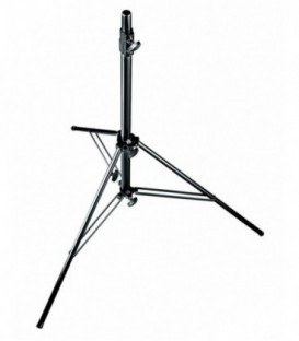 Manfrotto 126BMUAC - Air-cushioned Levelling Leg LE Stand, Black