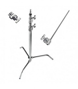 Manfrotto A2033FKIT - C-Stand Grip Arm Kit (Chrome-plated, 10.75')