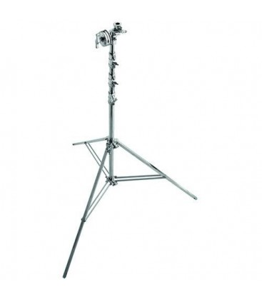 Manfrotto MA A3056CS - Overhead Steel Stand 56 with Leveling Leg (Chrome-plated 18.3 feet)