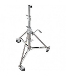 Manfrotto B6029X - Wind Up Stand 29 with Low Base and Braked Wheels ( 9.5')
