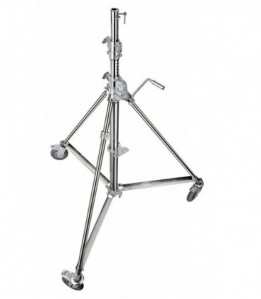 Manfrotto MA B6040X - Super Wind-up 40 Stand with Braked Wheels (12.6 feet)
