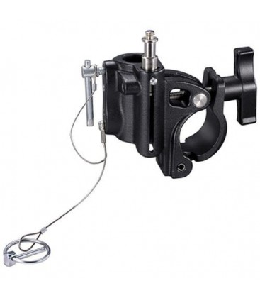 Manfrotto C345BK - Barrel Clamp with T-Knob (Black)