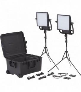 Litepanels 935-3001 - Astra 1x1 Traveler Duo V-Mount Kit