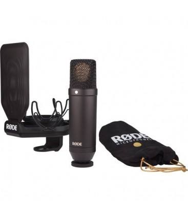 Rode NT1-Kit - Large Diaphragm Condenser Microphone Kit with SMR Shockmount