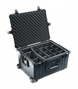 Pelicase 1620-004-110E - Protection Case with dividers, Black