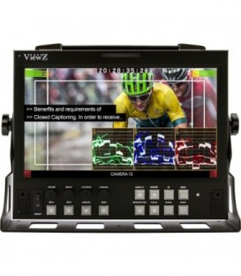 ViewZ VZ-090PM-P - 9 inch Rack Mountable Monitor
