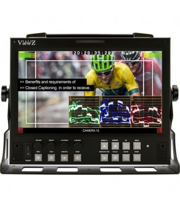 ViewZ VZ-090PM-P - 9 inch Rack Mountable Monitor