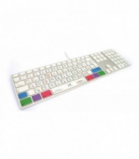 Editors Keys EK-KB-LOGX-M89-DE - Backlit Keyboard
