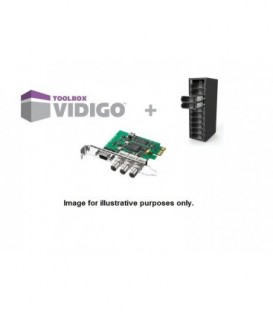 VidiGo VT2-TB - Turnkey kit with Blackmagic Design SDI card