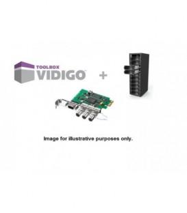 VidiGo VT2-TB - Turnkey kit with Blackmagic Design SDI card