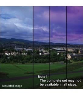 Tiffen 66CGTW2 - 6X6 Clr/Twilight 2 Grad Filter