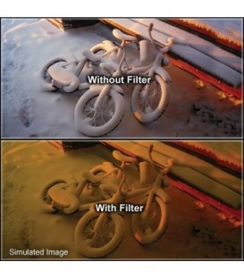 Tiffen 66CH3 - 6X6 Chocolate 3 Filter