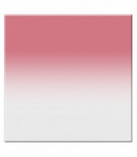 Tiffen 22CGCR2S - 2X2 Clr/2 Cranberry Soft-Edge Graduated Filter