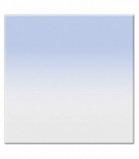 Tiffen 22CGB1S - 2X2 Clr/Blue 1 Soft-Edge Graduated Filter