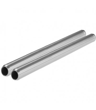 "Shape 19TUBE12 - 19Mm Aluminum Rods (Pair, 12"")"