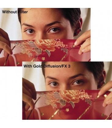Tiffen 56GDFX2 - 5X6 Gold Diffusion Fx 2