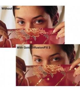 Tiffen 56GDFX14 - 5X6 Gold Diffusion Fx 1/4