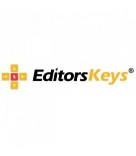 Editors Keys EK-KB-PHOTOCC-BLWIN-DE - Backlit Keyboard
